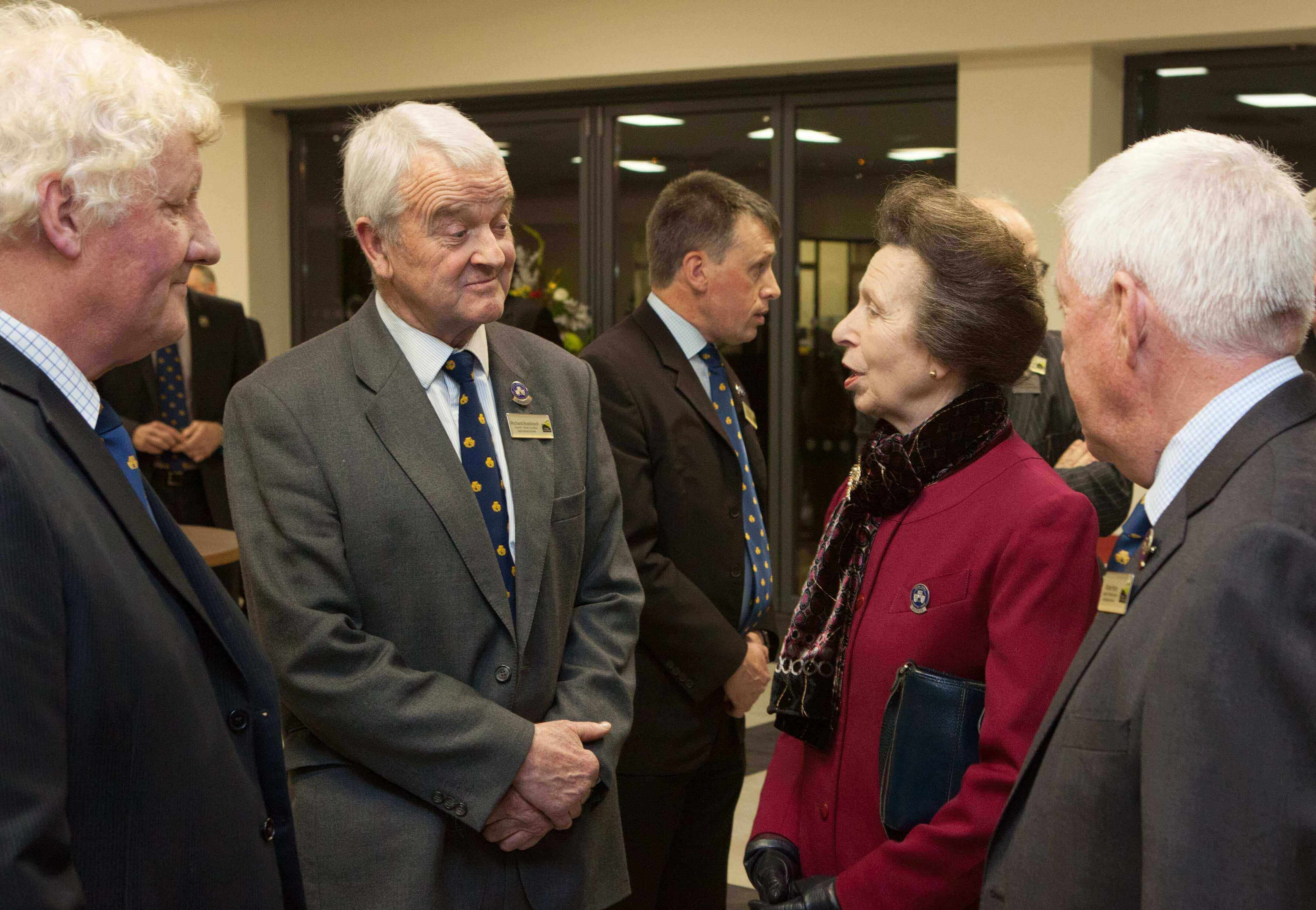 Richard Bradstock, Three Counties Council meeting HRH The Princess Royal.jpg