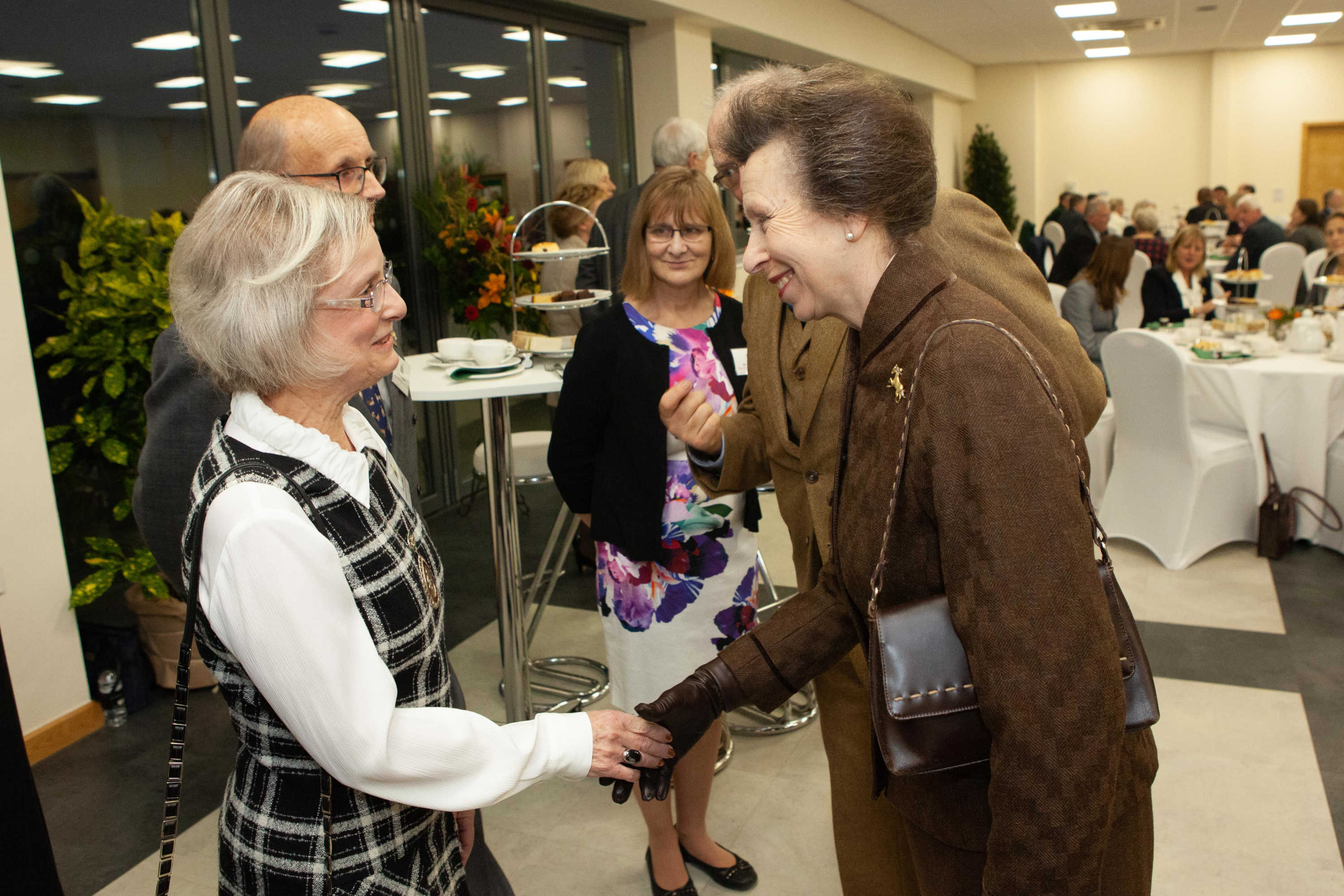 HRH The Princess Royal meeting Susan Stone from Worcestershire Women's Institute.jpg